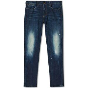 Giorgio Armani Emporio Armani J06 Slim Fit Jeans Medium Blue men W38L32 Blå