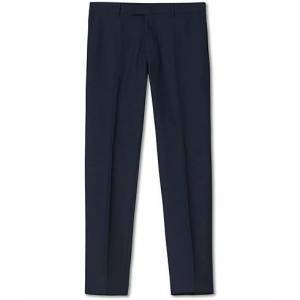 Oscar Jacobson Damien Trousers Super 120's Wool Navy men 54 long Blå