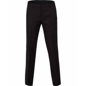 Boss Gibson Regular Fit Wool Trousers Black men 52 Sort