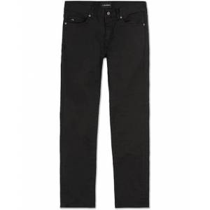 J.Lindeberg Jay Satin Stretch Jeans Black men W32L32 Sort