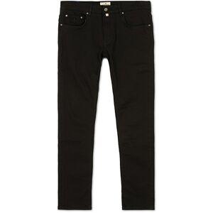 Morris Steve Satin Stretch Jeans Black men W34L34 Sort