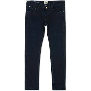 Morris Steve Satin Stretch Jeans Dark Wash men W31L34 Blå