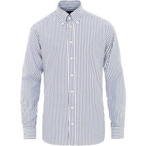 Eton Slim Fit Royal Oxford Stripe Button Down Navy men 38 - S Blå