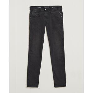 Replay Anbass Hyperflex Clouds Jeans Black men W32L32 Sort
