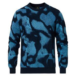 PS Paul Smith Pattern Cotton Sweater Navy men L Blå