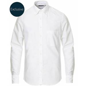 Stenströms Slimline Oxford Shirt White men 38 - S Hvid