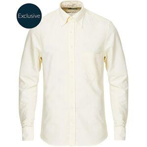 Stenströms Slimline Oxford Shirt Light Yellow men 38 - S Gul
