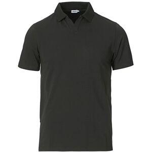 Filippa K Soft Lycra Polo T-Shirt Dark Spruce men S Grøn