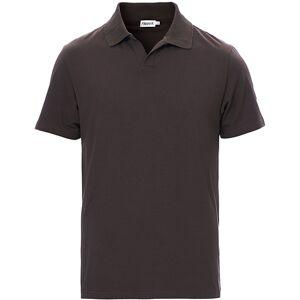 Filippa K Soft Lycra Polo T-Shirt Dark Mole men XL Grå