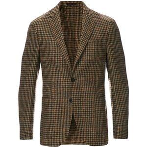 The Gigi Degas Wool Check Blazer Brown/Beige men 54 Brun