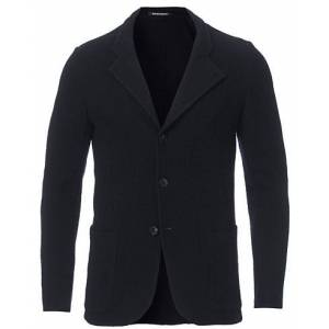 Giorgio Armani Emporio Armani Virgin Wool Knitted Blazer Blue men 48 Blå
