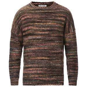 Our Legacy Popover Fairisle Sweater Green/Brown men 54 Brun