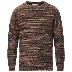 Our Legacy Popover Fairisle Sweater Green/Brown men 48 Brun