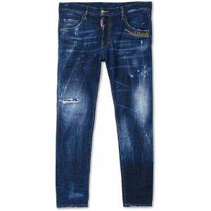 Dsquared2 Skater Jeans Galaxy Dark men 48 Blå