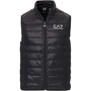 EA7 Train Core Light Down Vest Black men XXL Sort