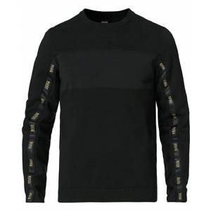 Boss Athleisure Rondy Taped Knitted Sweater Black men M Sort