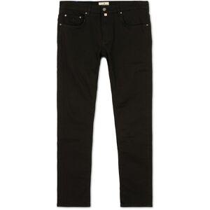 Morris Steve Satin Stretch Jeans Black men W32L32 Sort