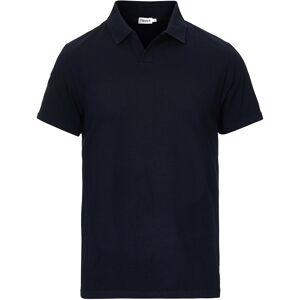 Filippa K Soft Lycra Polo T-Shirt Navy men M Blå