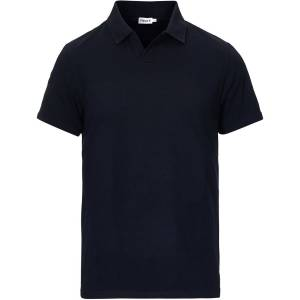 Filippa K Soft Lycra Polo T-Shirt Navy men XL Blå