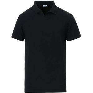 Filippa K Soft Lycra Polo T-Shirt Black men S Sort