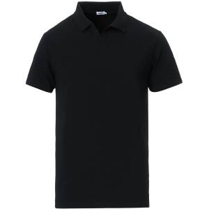 Filippa K Soft Lycra Polo T-Shirt Black men L Sort