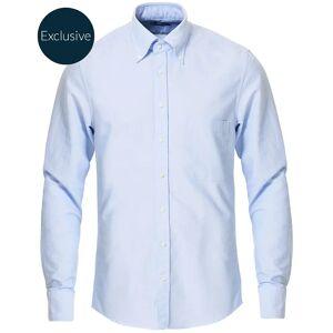 Stenströms Slimline Oxford Shirt Light Blue men 38 - S Blå