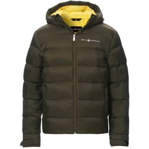 Sail Racing Gravity Down Hooded Jacket Forest Green men S Grøn