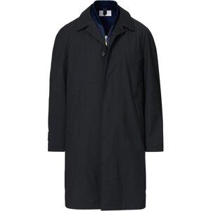 14 Savile Row Mac Removable Gilet Coat Charcoal men UK38 - EU48 Grå