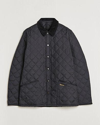 Barbour Heritage Liddesdale Jacket Black men XXL Sort