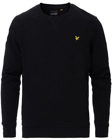 Scott Lyle & Scott Crew Neck Sweatshirt Jet Black men M Sort