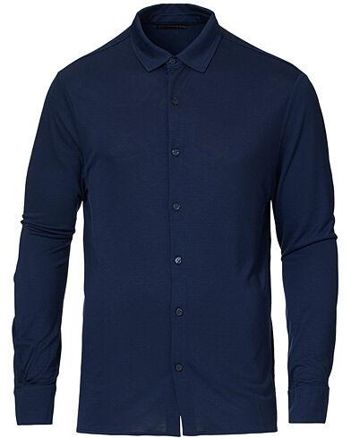 Vilebrequin Calandre Jersey Tencel Shirt Navy men XXL Blå