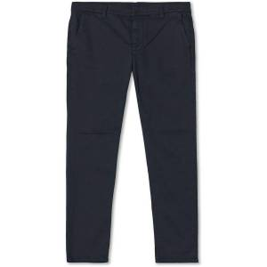 Nudie Jeans Easy Alvin Chinos Dark Midnight men W33L32 Blå
