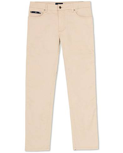 Hackett Trinity 5-Pocket Trousers Oatmeal men W34L34 Beige