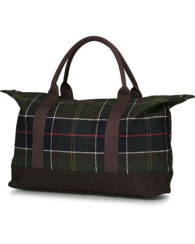 Barbour Lifestyle Elgin Holdall Classic Tartan men One size Grøn