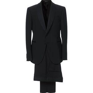 Giorgio Armani Emporio Armani Slim Fit Virgon Wool Shawl Collar Tuxedo Black men 48 Sort