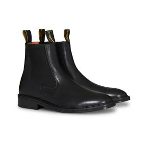 Lanvin Alma Chelsea Boot Black men 40 Sort