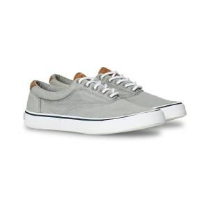 Sperry Striper II Canvas Sneaker Grey men US9,5 - EU42,5 Grå