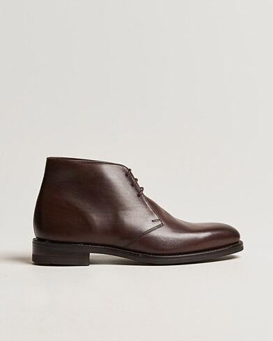 Loake 1880 Pimlico Chukka Boot Dark Brown Calf men UK5,5 - EU39,5 Brun