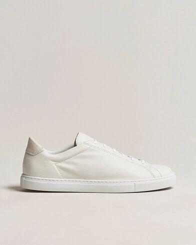 C.QP Racquet Sneaker White Leather men 41 Hvid