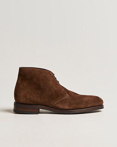 Loake 1880 Pimlico Chukka Boot Brown Suede men UK8,5 - EU42,5 Brun