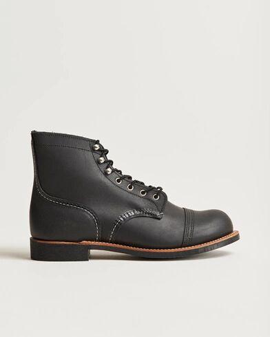 Red Wing Shoes Iron Ranger Black Harness men US9,5 - EU42,5 Sort