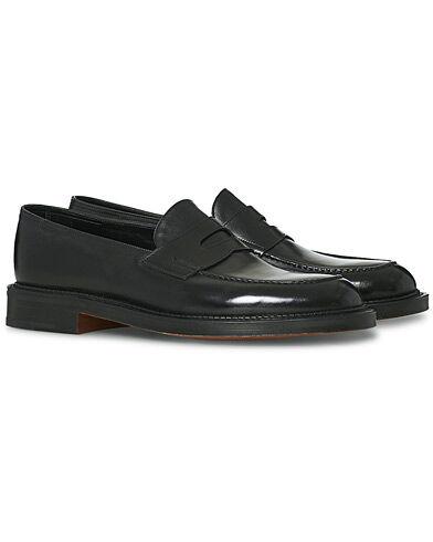John Lobb Lopez New Standard Penny Loafer Black Calf men UK9,5 - EU43,5 Sort