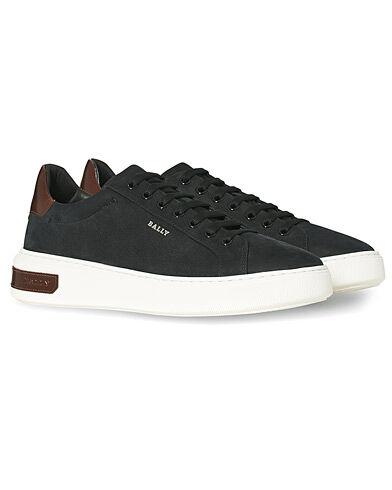 Bally Miky Sneaker Black Suede men UK11 - EU45 Sort