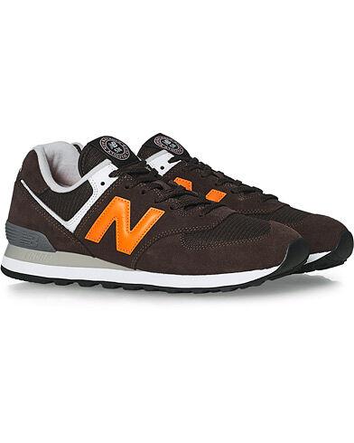 New Balance 574 Sneaker Black Coffee men US9 - EU42,5
