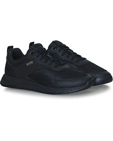 Boss Titanium Running Sneakers Black/Gold men 41