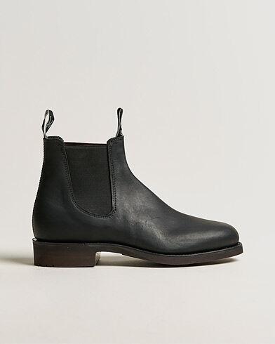 R.M.Williams Gardener G Boot Greasy Kip Black men UK6,5 - EU40 Sort