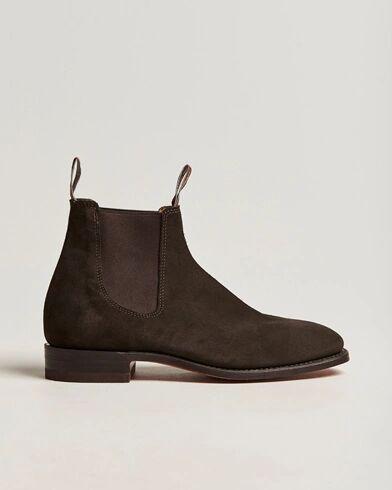 R.M.Williams Craftsman G Boot Suede Chocolate men UK7,5 - EU41,5 Brun