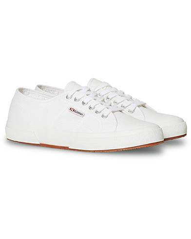 Superga Canvas Sneaker White men 41 Hvid