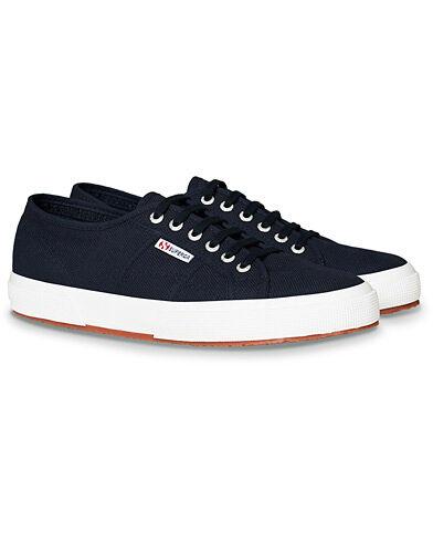 Superga Canvas Sneaker Navy men 44 Blå