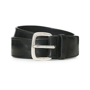 Orciani Vachetta Belt 3,5 cm Black men 85 Sort